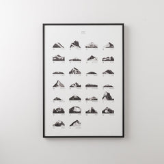 Mountains ABC Print Art - Schoolhouse Electric & Supply Co.