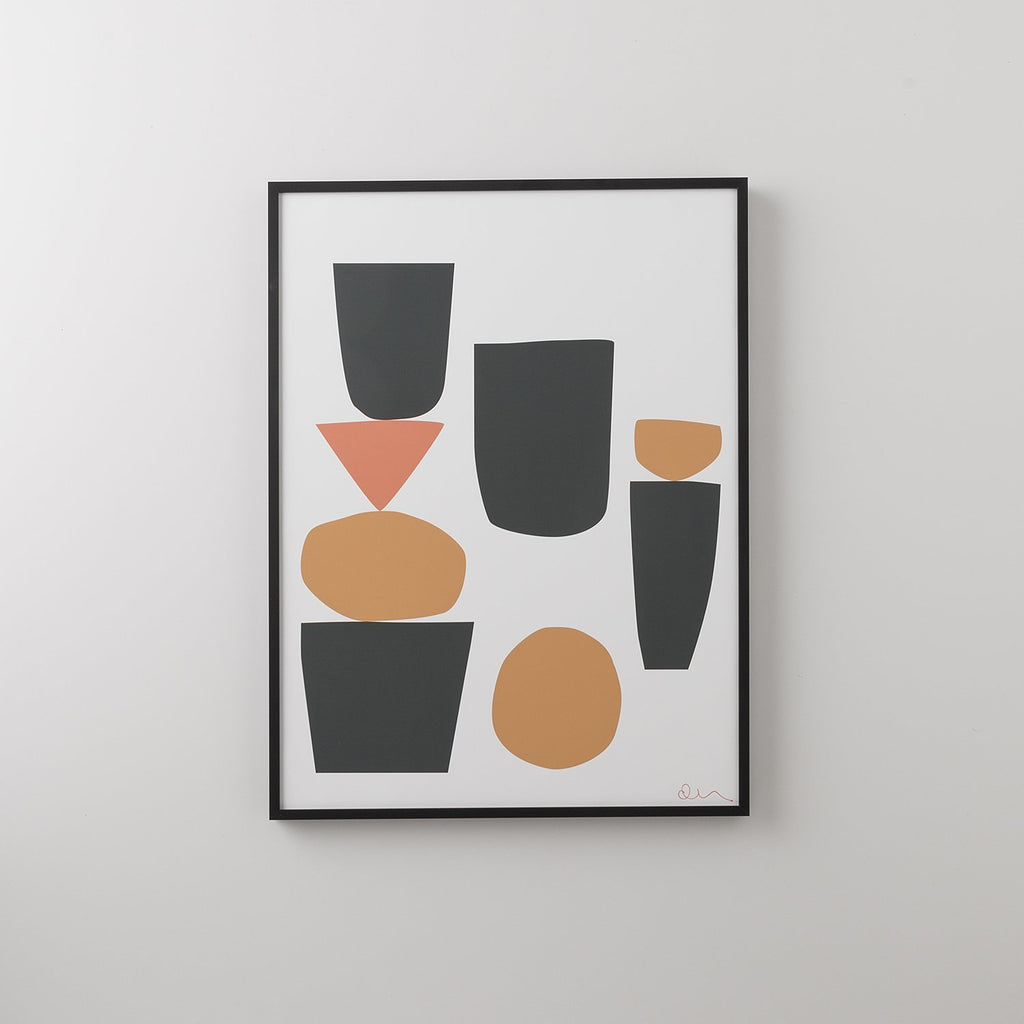 Arranged Shapes 1 Print Art - Schoolhouse Electric & Supply Co.