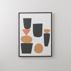Arranged Shapes 1 Print