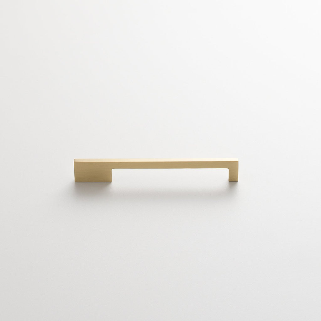 Alberta Pull - Natural Brass Drawer Pulls - Schoolhouse Electric & Supply Co.