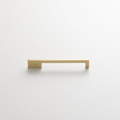 Alberta Pull - Natural Brass