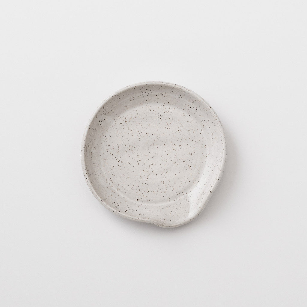 Speckled Stoneware Spoon Rest