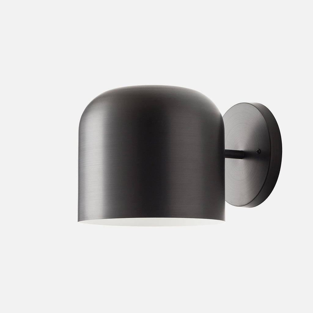 Donna Sconce   Black Anodized