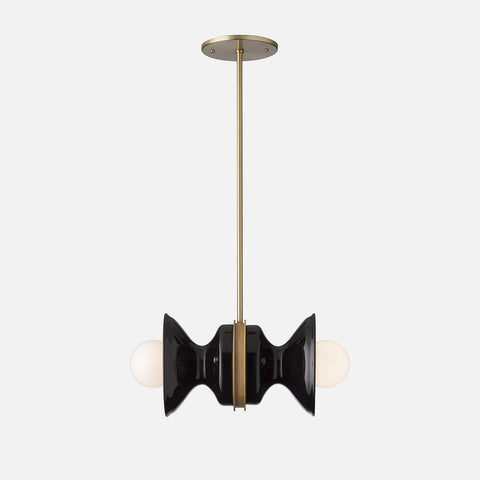 Pendant lights mid century modern ceiling fixtures schoolhouse pendants aloadofball Image collections