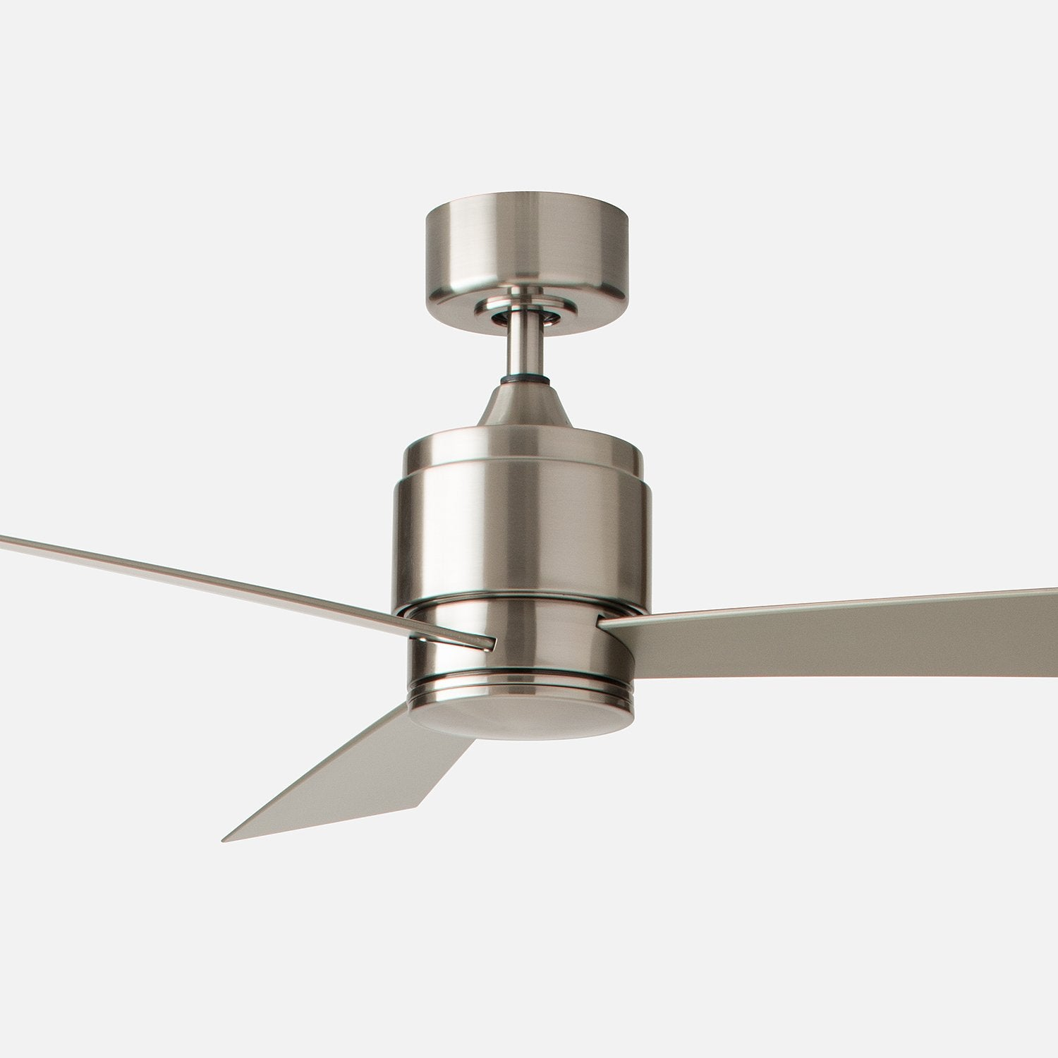 Zonix 52 led ceiling fan brushed nickel schoolhouse zonix 52 aloadofball