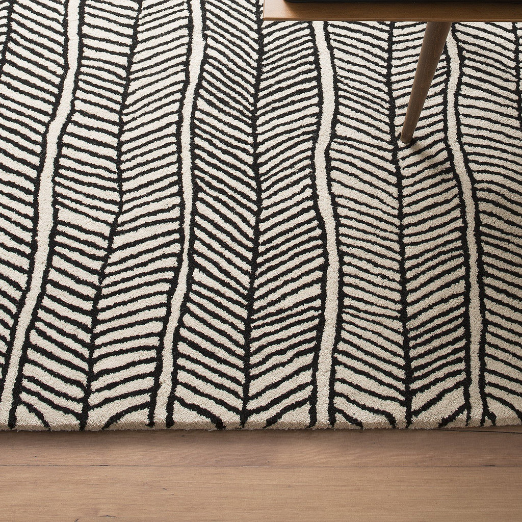 caminata cowhide grey citizenry pattern products x rugs herringbone the rug