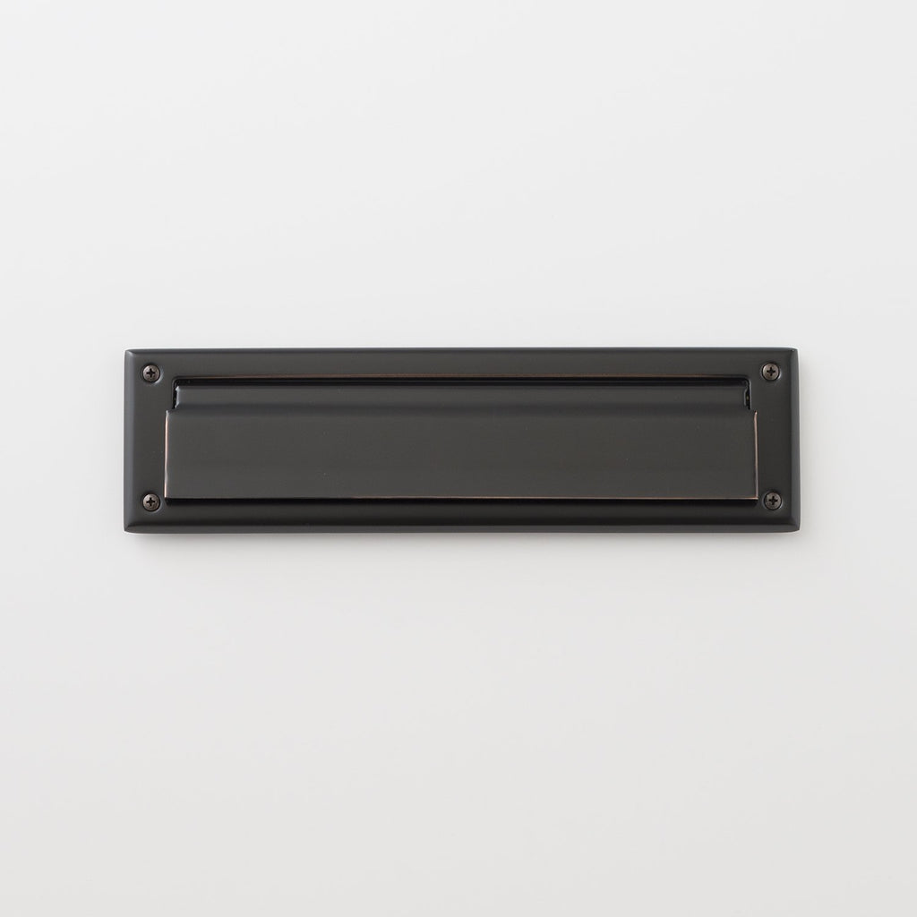 Petroleum Fuel Mail: Mail Slot - Oil Rubbed Bronze
