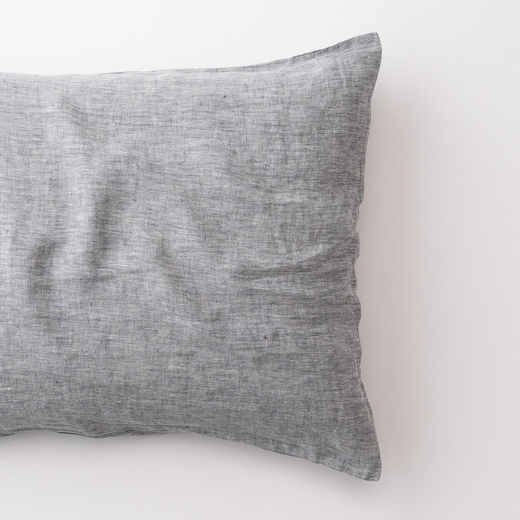 Gray Linen Pillow Sham Schoolhouse