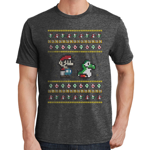 Super Mario Ugly Christmas Sweater T Shirt