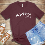 Property of Andy Toy Story T Shirt