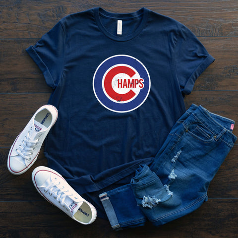 Champs Cubs Baseball T Shirt