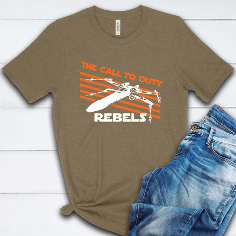 The Call to Duty Rebels T Shirt