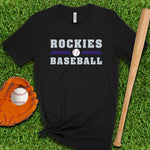 Rockies Baseball Colorado T Shirt