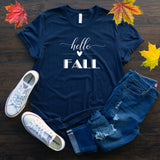 Hello Heart Fall Halloween Thanksgiving T Shirt