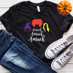 Hocus Pocus Amuck Fall Halloween T Shirt