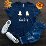 Boo Bees Fall Halloween T Shirt