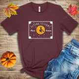 Witch Flying Lessons Fall Halloween T Shirt