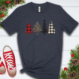Christmas Tree Patterns Color T Shirt