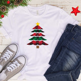 Christmas Tree Plaid T Shirt
