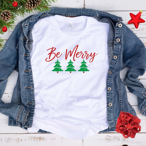 Be Merry T Shirt