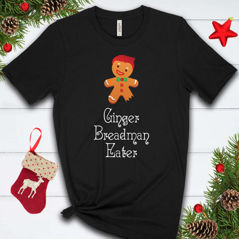 Gingerbread Man Eater T Shirt
