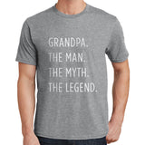 Grandpa, Man, Myth, Legend T Shirt