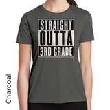 Straight Outta 3rd Grade Graphic T-Shirt 1096