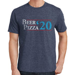 Beer & Pizza For President 2020 T Shirt