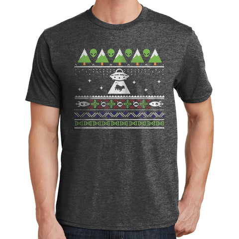 Aliens Ugly Christmas Sweater T Shirt