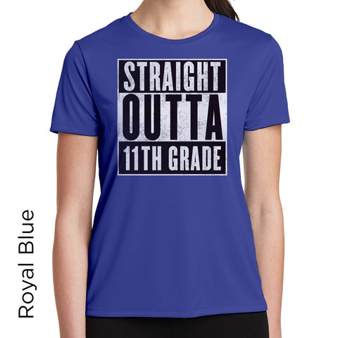 Straight Outta 11th Grade Graphic T-Shirt 1104