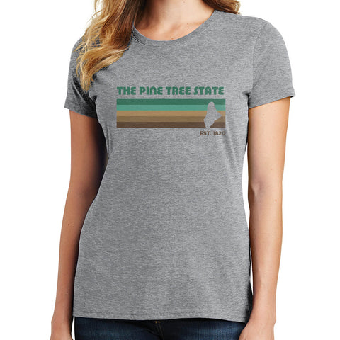 The Pine Tree State T Shirt
