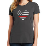 Thin Red Line T Shirt