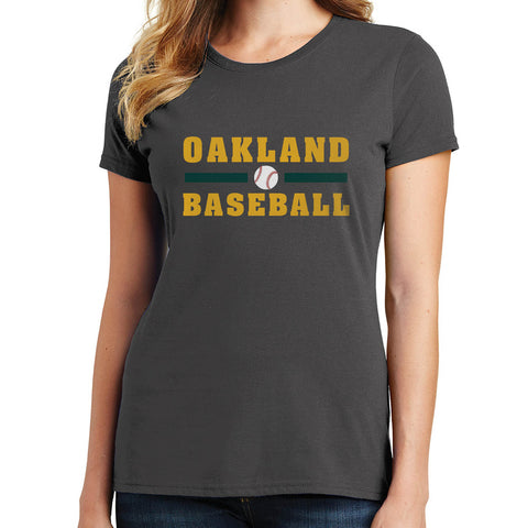 Oakland Baseball T Shirt