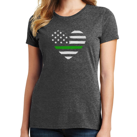 Thin Green Line T Shirt
