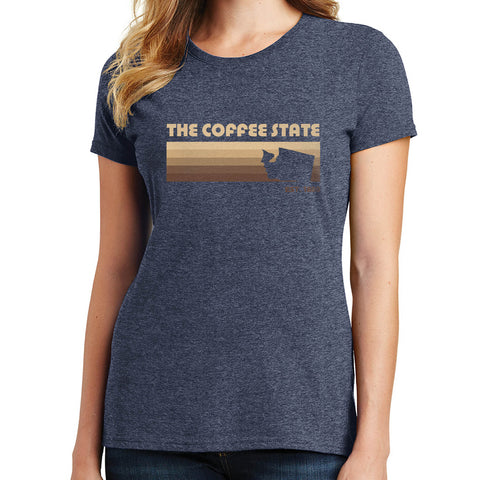 The Coffee State T Shirt