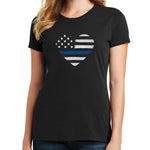 Thin Blue Line T Shirt