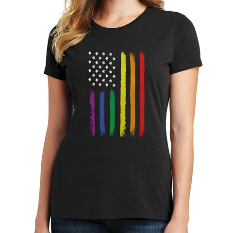 Pride Flag T Shirt