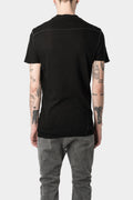 10SEI0OTTO | SS20 Men - Scar Stitch Knit T-Shirt