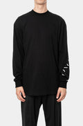 Crewneck long sleeve t-shirt, Printed