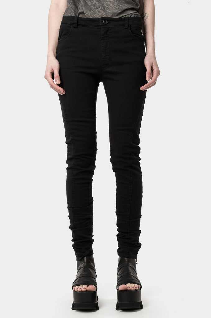 Ankle zip jeans