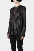 Rad Hourani | Draped lightweight jacket