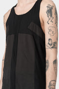 139 DEC | Block tank, Black