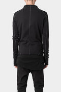 Pre-owned - Thom Krom | Scar stitch zip sweater