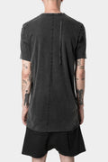 11 by Boris Bidjan Saberi | AW20 - TS1B - T-shirt, Dark punk grey