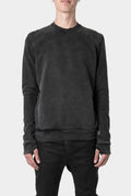 11 by Boris Bidjan Saberi | AW20 - CR1C - Block sweatshirt, punk grey