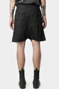 11 by Boris Bidjan Saberi | AW20 - P27 - Waxed shorts