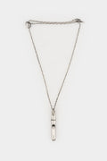 OSS | Phalanx oxidised silver pendant necklace