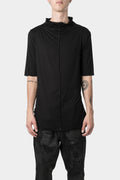ATELIER AURA - Half sleeve mock neck T-Shirt