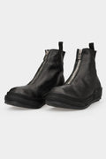 Guidi | Front zip leather sneakers | PLS