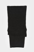 Cashmere knit neck warmer, Flap